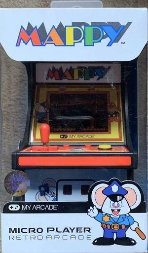 "MY ARCADE MAPPY 6"" Micro Arcade Machine Portable Handheld Video Game for Sale in Maricopa, AZ"