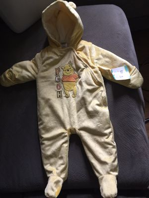 Disney Winnie the Pooh Halloween costume New size 6/9 months for Sale in Clearwater, FL