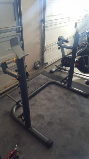 Golds Gym XRS 20 Olympic Squat Rack for Sale in Riverside, CA
