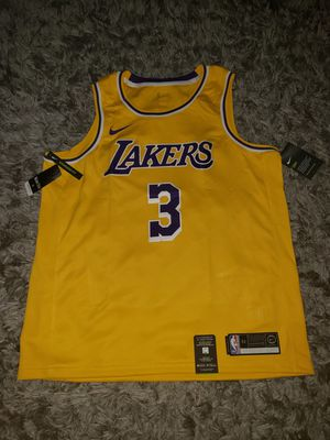 Anthony Davis Los Angeles Lakers Nike 2019/20 Swingman Jersey Gold - Icon Edition . Size XL for Sale in Downey, CA