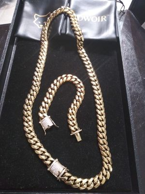Early Black Friday sales!! New 14k Gold Filled Cuban Chain Best Top Quality!! All Sizes Available!! for Sale in Atlanta, GA