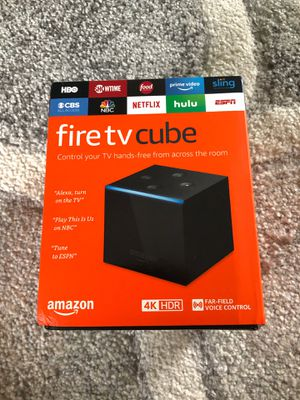 Amazon Fire TV Cube - Unopened for Sale in Orlando, FL