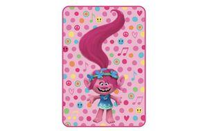 """Trolls Poppy Rocks Twin Kids Bedding Plush Blanket 62"""" (W) x 90"""" (L) for Sale in Auburn, GA"""