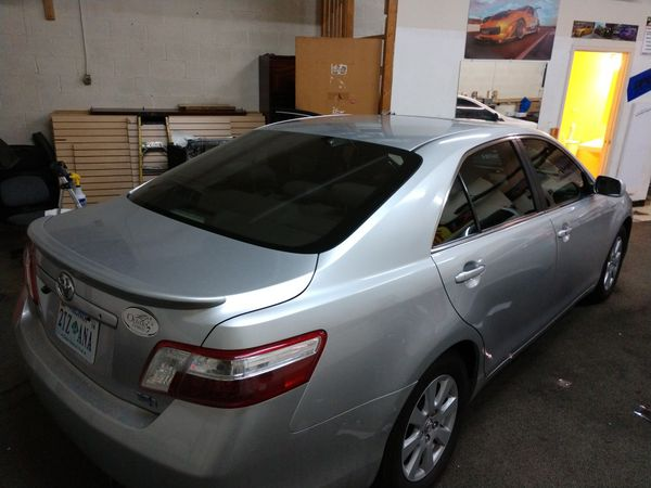 Window tinting & car wrapping