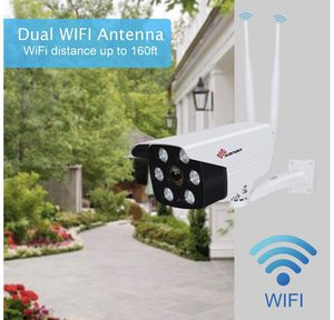 Floodlight Camera, Sanan 1080P Outdoor Security Camera Surveillance Cameras, IP Camera with Two-Way Audio, IP66 Waterproof, Night Vision, Motion Dete for Sale in Edison, NJ