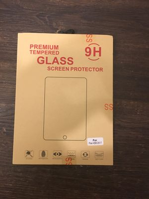 Kindle Fire HD8 (2017) Glass Screen Protector. for Sale in Dallas, TX