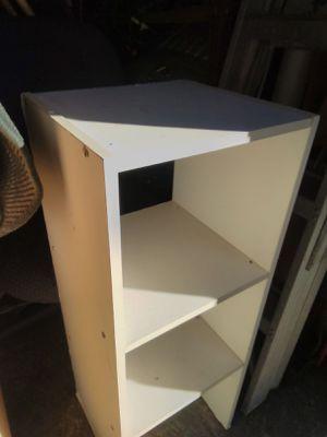 2 white shelf set for Sale in Houston, TX