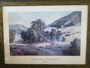 Signed poster of Painting for Sale in Arroyo Grande, CA
