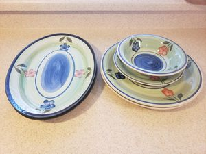 Vintage/Antique China Plates & Bowls | Emerald Collection for Sale in North Las Vegas, NV