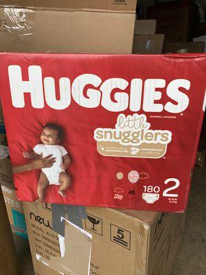 Huggies Little Snugglers Size 2 for Sale in Fontana, CA
