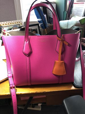 Tory Burch Tote, Crazy Pink for Spring and Brand New! for Sale in Rancho Cucamonga, CA