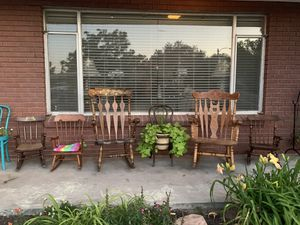 Vintage Rocking Chairs child sizes for Sale in Midvale, UT
