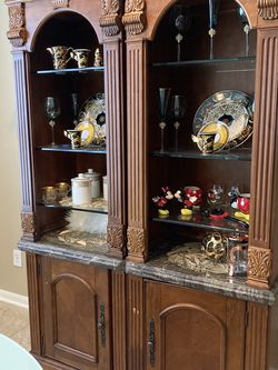 Glass Shelf cabinets for Sale in Houston,  TX