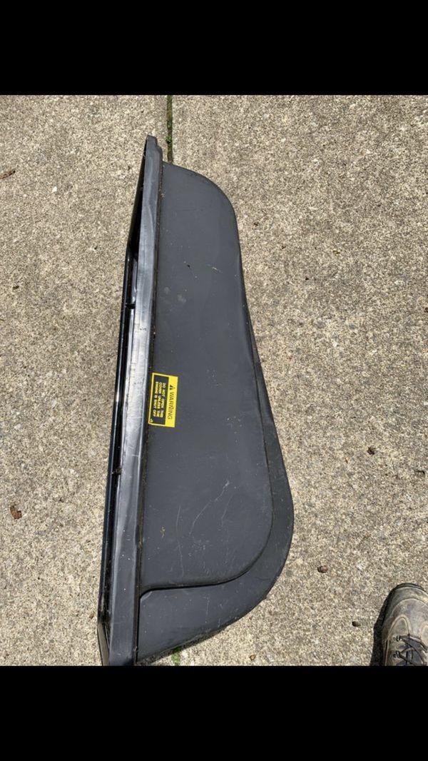MTD ridinglawnmower bagger cover