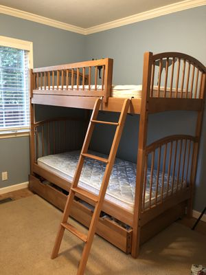 Bunk beds with under storage $425 or 1-2 Twin Bed for Sale in Walnut Creek, CA