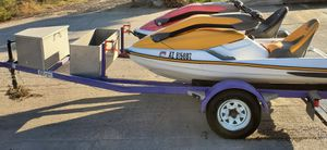Two Seadoo 3D's & Trailer for Sale in Yuma, AZ