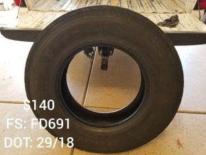 Diesel tires Low pro 22.5 295/75r22.5 for Sale in Bakersfield, CA