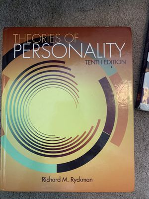 Theories of Personality Tenth Edition Textbook for Sale in Algona, WA