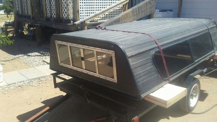 Aluminum sturdy camper shell for Sale in Tucson,  AZ