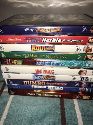 Mostly Disney Dvds bundle of 10, good used condition Take all for just $15.00! Pickup in Acton ma or ships for $7 for Sale in Westford, MA