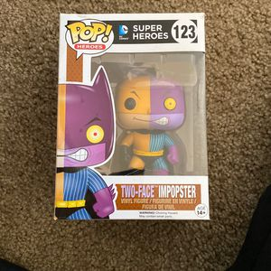 Harvey Dent/Two Face Pop Heroes Vinyl Figure for Sale in Mountain View, CA