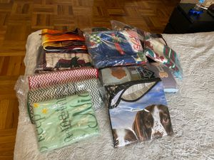 More blankets , dish drying mat , car sun panel , pillows for pet for Sale in Washington, DC