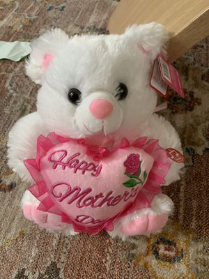 NEW 9 Inch Mothers Day Teddy Bear WITH AUDIO for Sale in Silver Spring, MD
