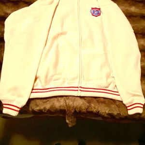 1960 AUTH ORIG PLAYER WORN TYPE EXTRA LARGE FINE WOOL FULL ZIPPER SWEATER PRISTINE MINT!! ASK PREMIUM $2000 BO RARE SCARCE for Sale in Houston, TX