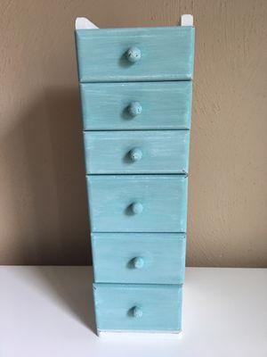 Cute wooden jewelry box/small chest for Sale in Virginia Beach, VA