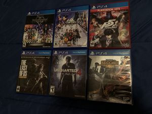 6 PS4 Games Lot for Sale for Sale in Austin, TX