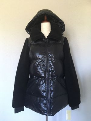 New Michael Kors Women's High Shine jacket with detachable hood XS for Sale in SIENNA PLANT, TX