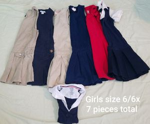 Girls size 6/6x school uniforms for Sale in Tampa, FL