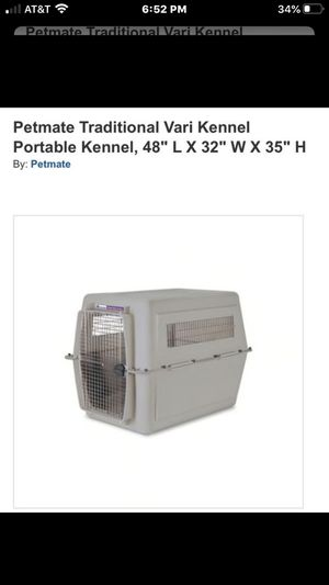 large dog crate for Sale in Haverhill, MA