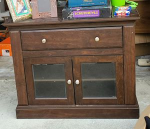 TV Stand with 2 Shelves & Drawer for Sale in ROWLAND HGHTS, CA