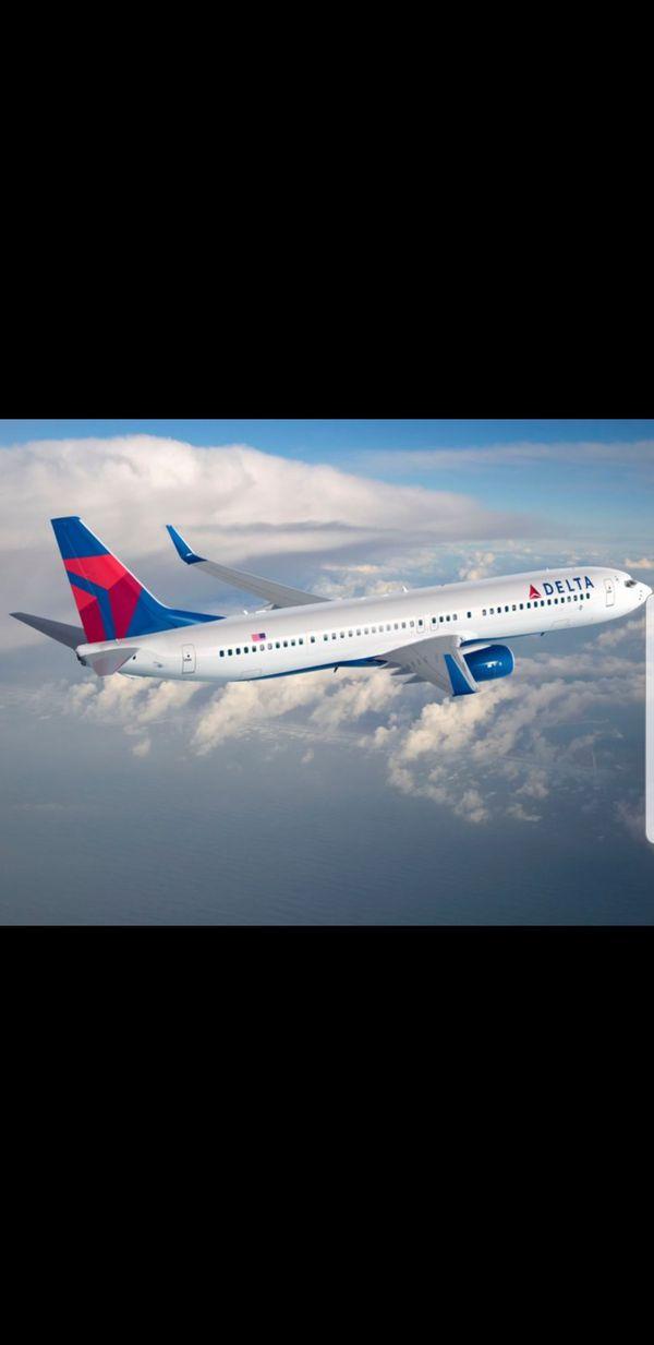 Delta Round Trip Ticket