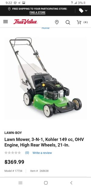 2 Lawnboy self driven mower little use after purchase of john deere for Sale in Lexington, KY