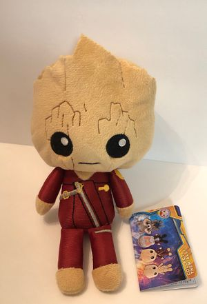 "Marvel Guardians of the Galaxy Vol. 2 Groot with Ravager Outfit Collectible 6"" Plush Funko Hero Plushies New with Tags for Sale in Las Vegas, NV"