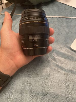 Canon 85mm 1.8 for Sale in Fort Lauderdale, FL