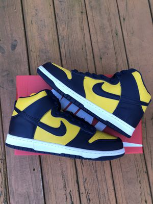 Nike Dunk High SP Michigan Size 12.5 for Sale in Sterling, VA