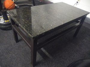 Granite coffee table . L 39 x D 19 x H 17. Like new. Super heavy. for Sale in Orlando, FL