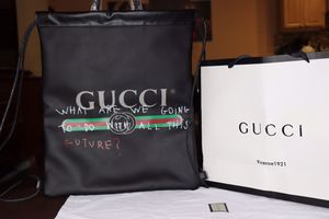Gucci Leather Drawstring Backpack for Sale in Springfield, VA