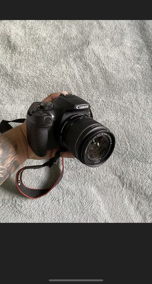 Canon Rebel T6 Camera (18-55mm ONLY) Serial #8575. Will ship same day for Sale in Washington, DC