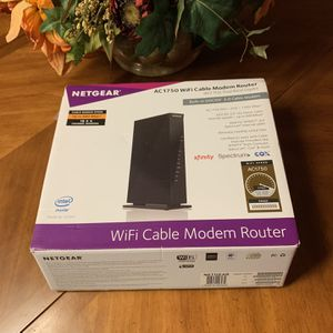 Netgear AC1750 Wifi Cable Modem Router for Sale in New Brunswick, NJ