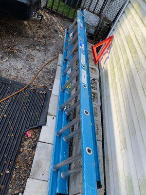 20 feet ladder 100 firm for Sale in Oakland Park, FL