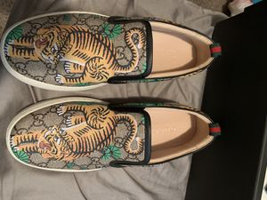 GUCCI Shoes (brand new) yes they are real for Sale in Elk Grove, CA