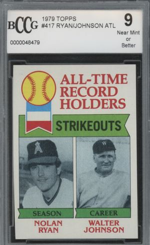 1979 Topps Nolan Ryan graded baseball card for Sale in Pflugerville, TX