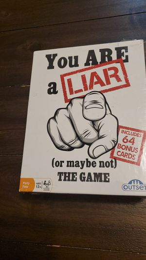 You are a liar or maybe not game for Sale in Nashua, NH