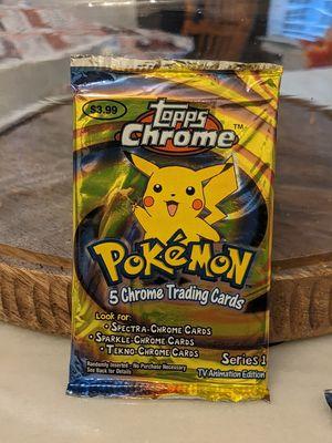Pokemon Topps 2000 CHROME sealed for Sale in Greenville, TX