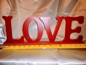 "Home Decor for Your Home: LOVE , Approx 18"" Long, $3 for Sale in Mesa, AZ"