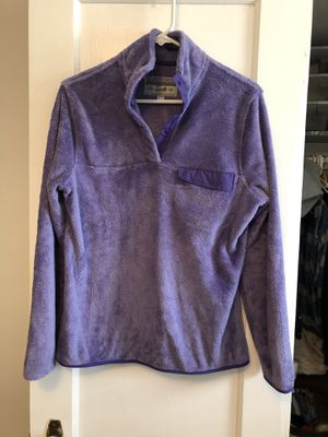 Purple Patagonia type pullover sweatshirt - woman's size xsmall/small for Sale in Seattle, WA